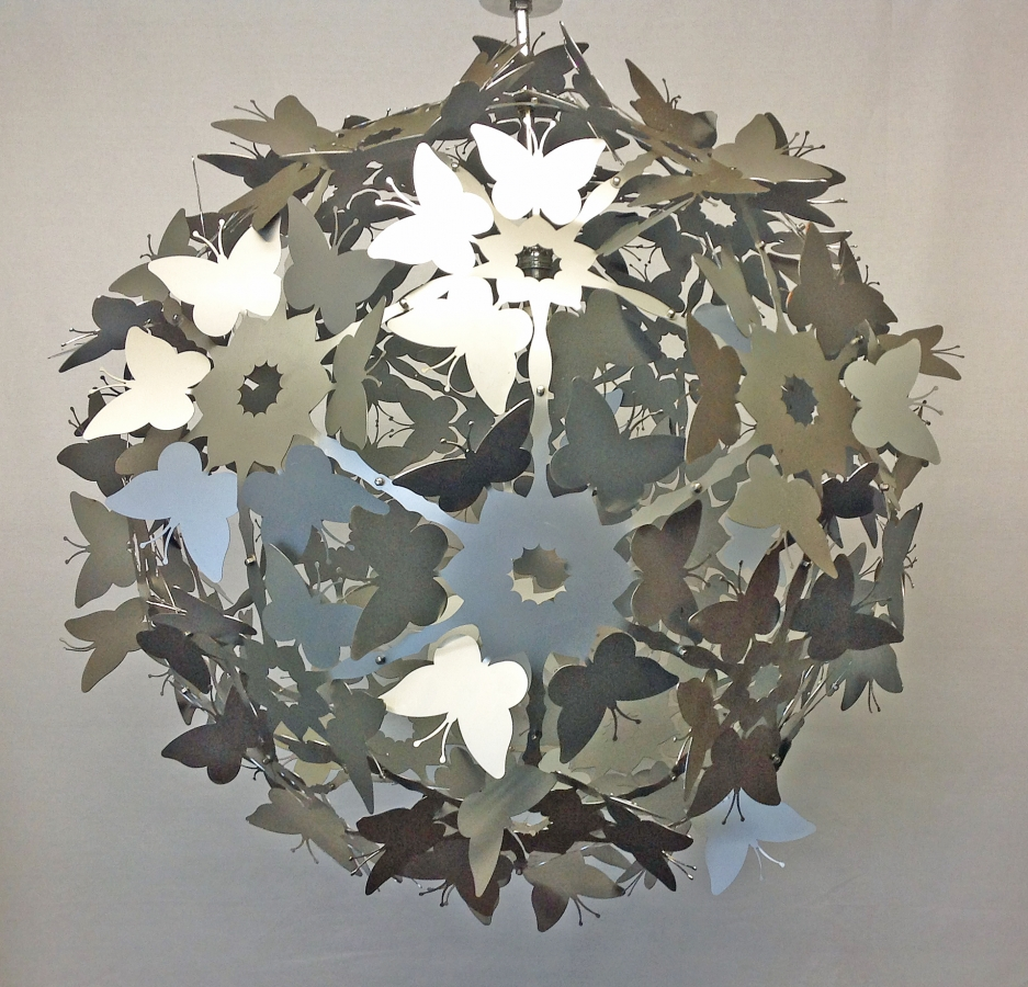 Full Butterfly Pendant Light