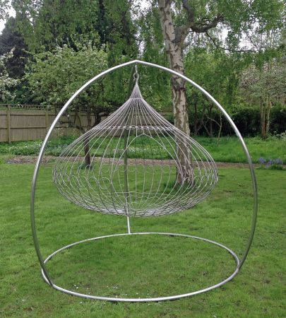 stainless onion swing with frame