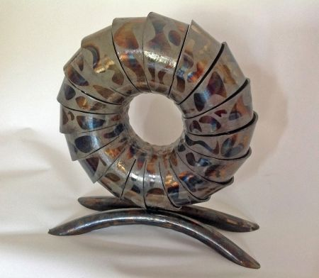 aperture sculpture with temper colours