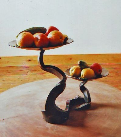 double fruit bowl