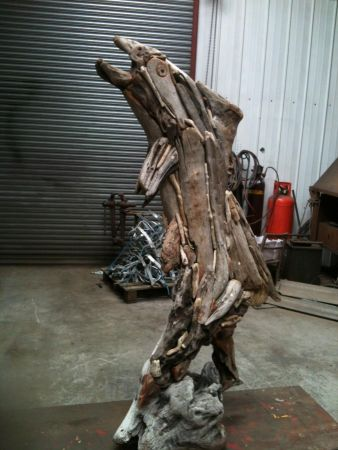 fish driftwood sculpture 2