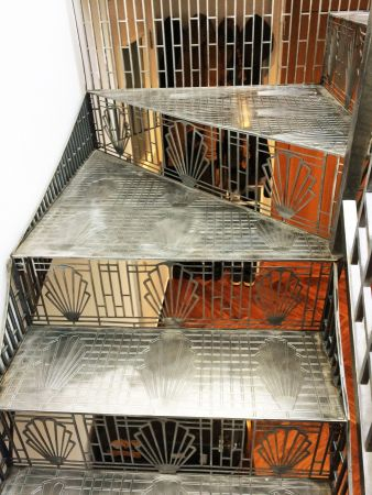 art deco perforated stairs 3