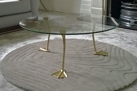 duck leg coffee table