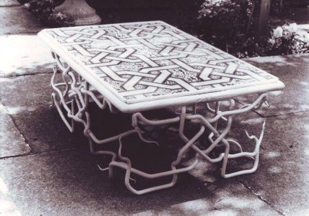 islamic tile table