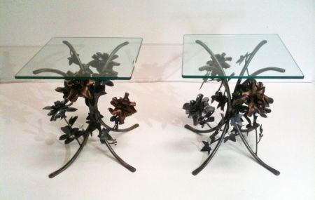 roses and ivy bedsides tables